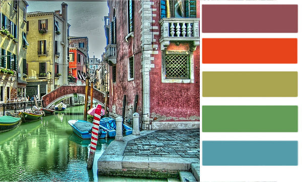 Color palette of the week venezia