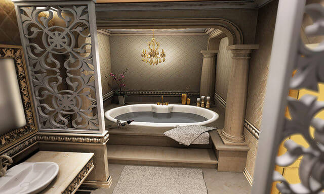 royal treatment bathtub