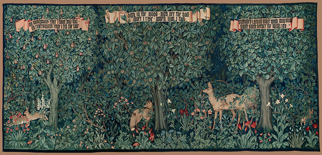 tapestry greenery William Morris