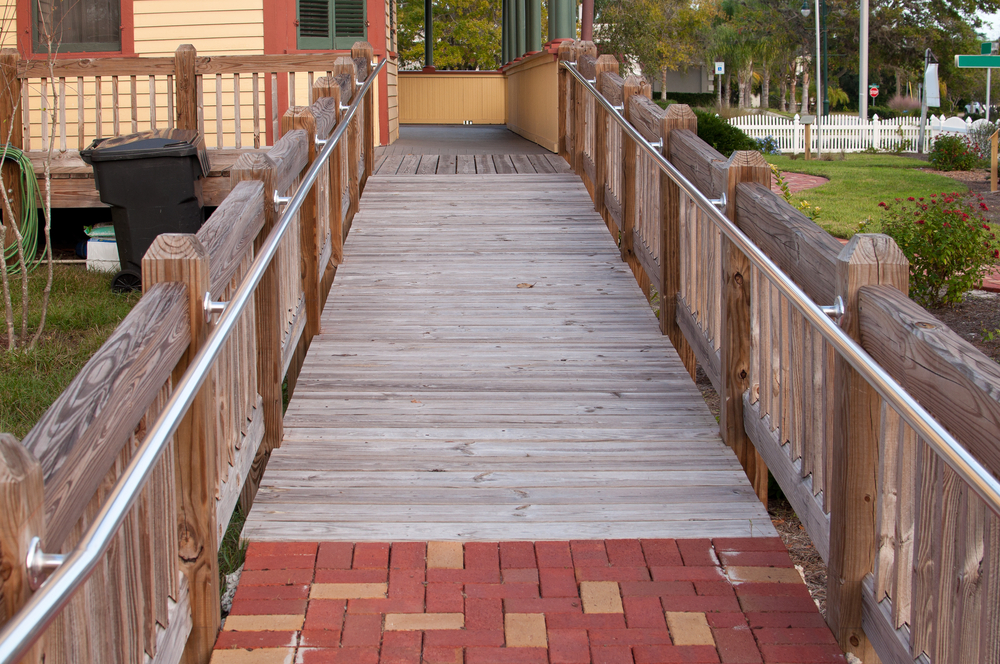 Ramp to home universal design