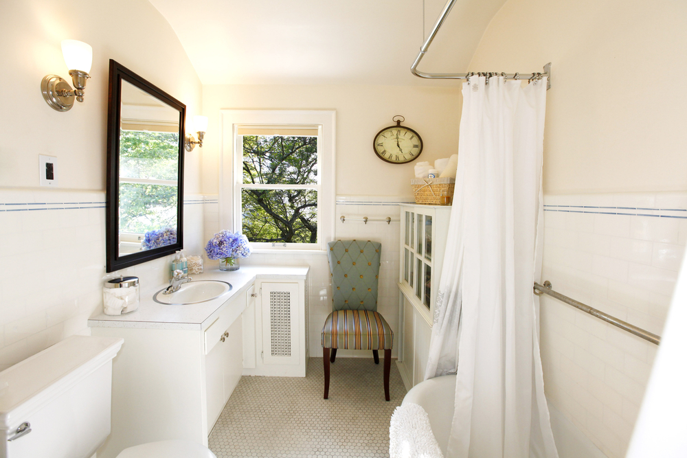 Remodel your bathroom with these principles in mind for Elegant small bathrooms