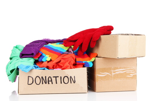 donation box clothes