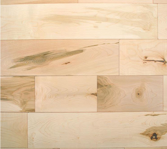 maple hardwood floor plank variation character marks